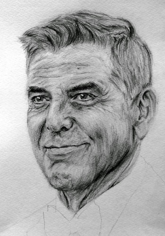 George Clooney by linshyhchyang